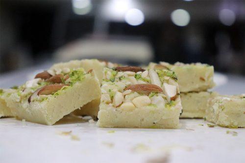 burfi pista badam pahalwans sweets